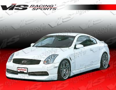 VIS Racing - Infiniti G35 2DR VIS Racing Wings Side Skirts - 03ING352DWIN-004