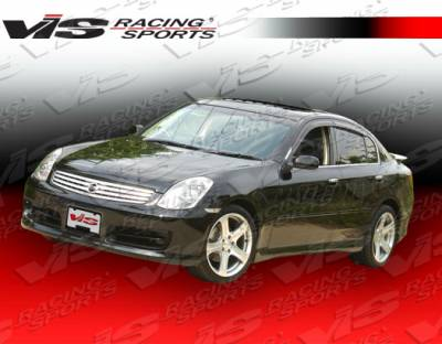 VIS Racing - Infiniti G35 4DR VIS Racing Techno R Side Skirts - 03ING354DTNR-004