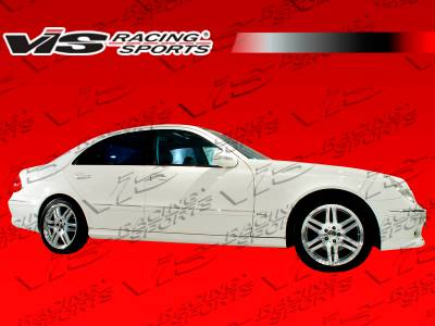 VIS Racing - Mercedes-Benz E Class VIS Racing B Spec Side Skirts - 03MEW2114DBSC-004