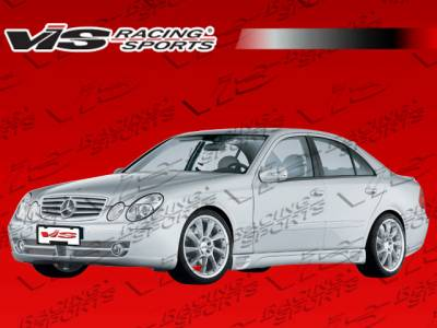 VIS Racing - Mercedes-Benz E Class VIS Racing Laser F1 Side Skirts - 03MEW2114DLF1-004