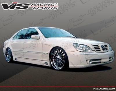 VIS Racing - Mercedes-Benz S Class VIS Racing Laser F1 Side Skirts - Long Wheelbase - 03MEW2204LLSF1-004