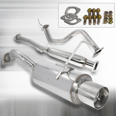 Custom Disco - Honda Civic Custom Disco N1 Catback Exhaust System - MFCAT3-CV923