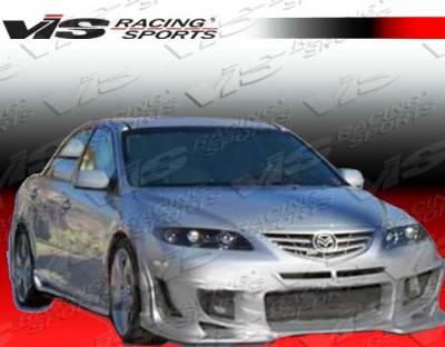 VIS Racing. - Mazda 6 VIS Racing Ballistix Side Skirts - 03MZ64DBX-004