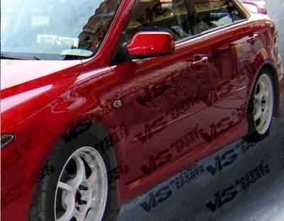VIS Racing - Mazda 6 VIS Racing Cyber Side Skirts - 03MZ64DCY-004