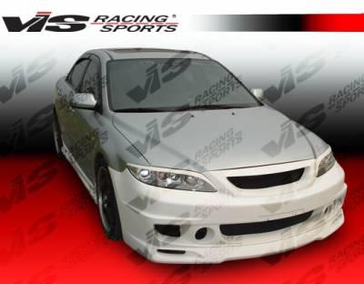 VIS Racing - Mazda 6 VIS Racing Cyber-2 Side Skirts - 03MZ64DCY2-004