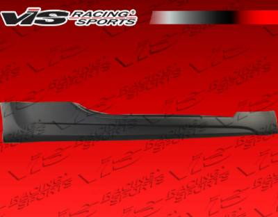 VIS Racing - Nissan 350Z VIS Racing AMS GT Side Skirts - 03NS3502DAMSGT-004