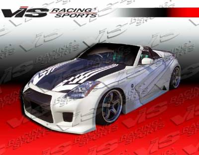 VIS Racing - Nissan 350Z VIS Racing R-35 Side Skirts - 03NS3502DR35-004