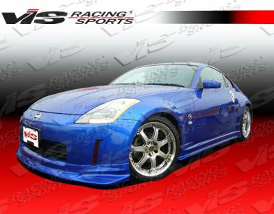VIS Racing - Nissan 350Z VIS Racing Tracer Side Skirts - 03NS3502DTRA-004