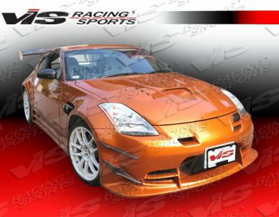 VIS Racing - Nissan 350Z VIS Racing Tracer FX Side Skirts - 03NS3502DTRAFX-004