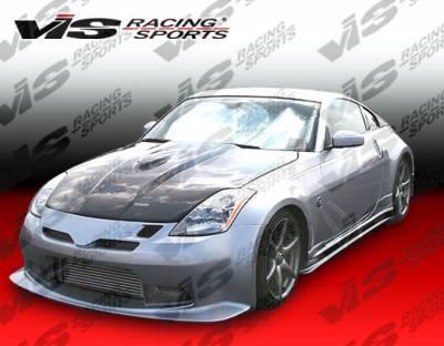 VIS Racing - Nissan 350Z VIS Racing Tracer GT Side Skirts - 03NS3502DTRAGT-004