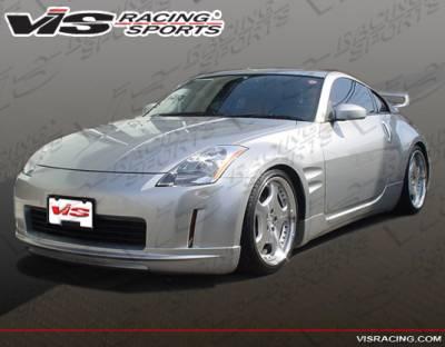 VIS Racing - Nissan 350Z VIS Racing VIP Side Skirts - 03NS3502DVIP-004
