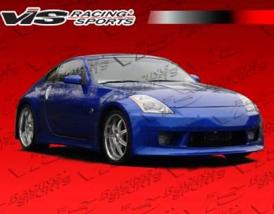VIS Racing - Nissan 350Z VIS Racing V Speed Side Skirts - 03NS3502DVSP-004