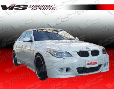 VIS Racing - BMW 5 Series VIS Racing Euro Tech Side Skirts - 04BME604DET-004