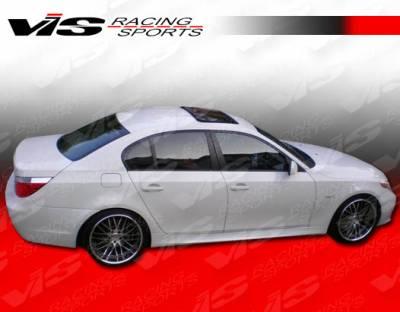 VIS Racing - BMW 5 Series VIS Racing M Tech Side Skirts - 04BME604DMTH-004
