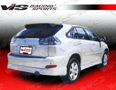 VIS Racing - Lexus RX330 VIS Racing Techno-R Side Skirts - 04LXRX34DTNR-004
