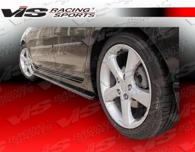 VIS Racing - Mazda 3 4DR HB VIS Racing A Spec Side Skirts - 04MZ3HBASC-004