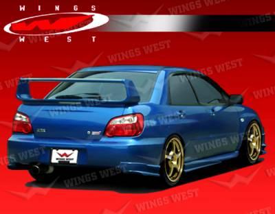 VIS Racing - Subaru WRX VIS Racing JPC Side Skirts - Polyurethane - 04SBWRX4DJPC-004P