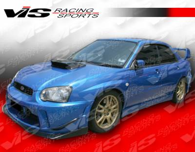 VIS Racing - Subaru WRX VIS Racing Z Sport Side Skirts - 04SBWRX4DZST-004