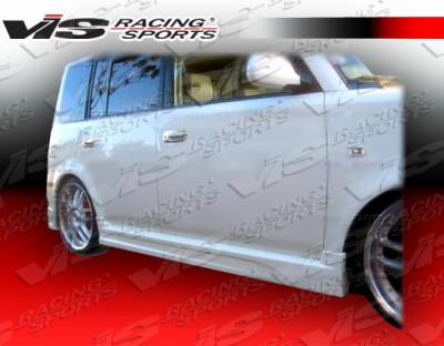VIS Racing - Scion xB VIS Racing Formula-1 Side Skirts - 04SNXB4DF1-004