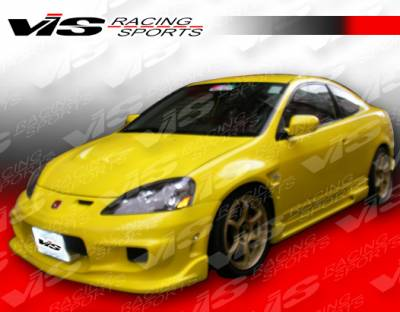 VIS Racing - Acura RSX VIS Racing Wings Type-2 Side Skirts - 05ACRSX2DWIN2-004