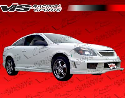 VIS Racing - Chevrolet Cobalt 2DR VIS Racing Ballistix Side Skirts - 05CHCOB2DBX-004