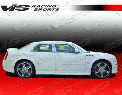 VIS Racing - Chrysler 300 VIS Racing EVO Side Skirts - 05CY3004DEVO-004