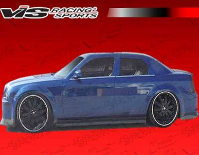 VIS Racing - Chrysler 300 VIS Racing VIP-4 Side Skirts - 05CY3004DVIP4-004