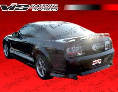 VIS Racing. - Ford Mustang VIS Racing Ballistix Side Skirts - 05FDMUS2DBX-004