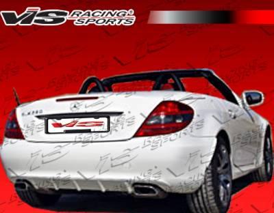 VIS Racing - Mercedes-Benz SLK VIS Racing Euro Tech 2K Side Skirts - 05MER1712DET2K-002