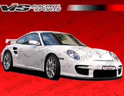 VIS Racing - Porsche 911 VIS Racing D2 Side Skirts - 05PS997T2DD2-004