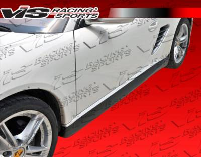 VIS Racing - Porsche Boxster VIS Racing Ars Side Skirts - Polyurethane - 05PSBOX2DARS-004P
