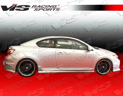 VIS Racing - Scion tC VIS Racing Laser Side Skirts - 05SNTC2DLS-004