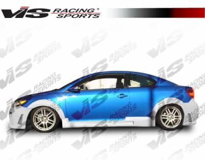 VIS Racing - Scion tC VIS Racing Octane Side Skirts - 05SNTC2DOCT-004