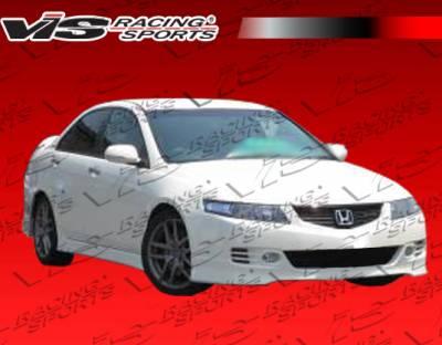 VIS Racing - Acura TSX VIS Racing Euro R Side Skirts - 06ACTSX4DEUR-004