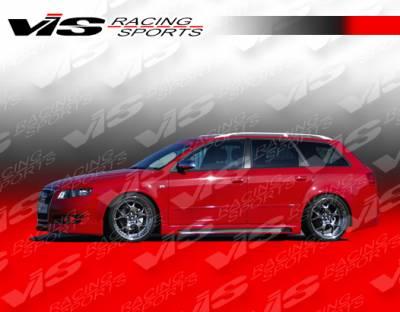 VIS Racing - Audi A4 VIS Racing R Tech Side Skirts - 06AUA44DRTH-004
