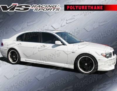 VIS Racing - BMW 7 Series VIS Racing A Tech Side Skirts - 06BME654DATH-004P