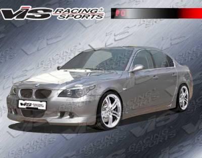 VIS Racing. - BMW 3 Series VIS Racing A Tech Side Skirts - 06BME904DATH-004