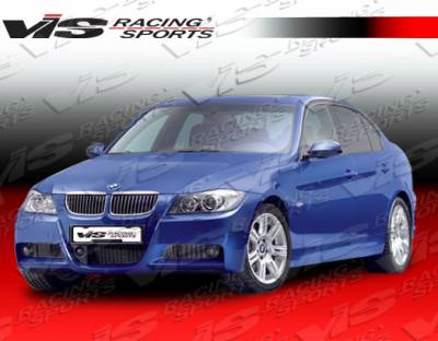 VIS Racing - BMW 3 Series VIS Racing M Tech Side Skirts - 06BME904DMTH-004