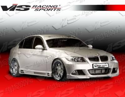 VIS Racing - BMW 3 Series VIS Racing R Tech Side Skirts - 06BME904DRTH-004