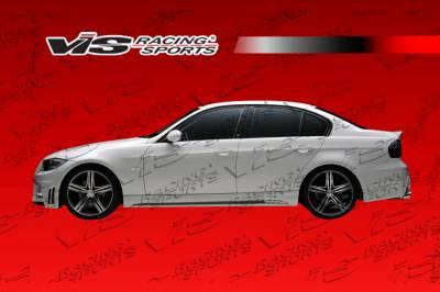 VIS Racing - BMW 3 Series VIS Racing VIP Side Skirts - 06BME904DVIP-004