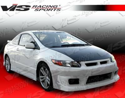 VIS Racing - Honda Civic 2DR VIS Racing N1 Side Skirts - 06HDCVC2DN1-004
