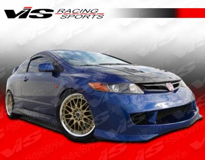 VIS Racing - Honda Civic 2DR VIS Racing Type R Side Skirts - 06HDCVC2DTYR-004