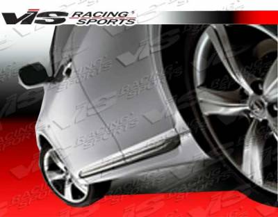 VIS Racing - Lexus GS VIS Racing Techno R Side Skirts - 06LXGS34DTNR-004