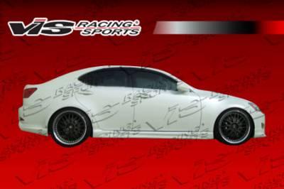 VIS Racing - Lexus IS VIS Racing JPC Side Skirts - Polyurethane - 06LXIS34DJPC-004P