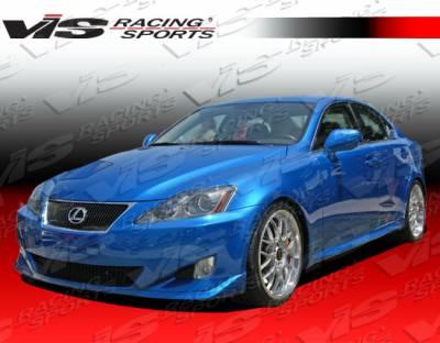 VIS Racing - Lexus IS VIS Racing Techno R Side Skirts - 06LXIS34DTNR-004
