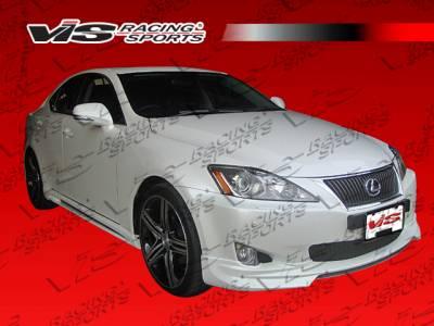 VIS Racing - Lexus IS VIS Racing VIP Side Skirts - 06LXIS34DVIP-004