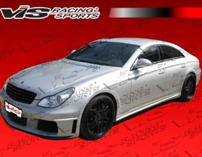 VIS Racing - Mercedes-Benz CLS VIS Racing B-Spec Side Skirts - 06MEW2194DBS-004