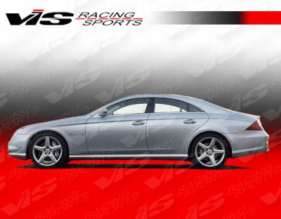 VIS Racing - Mercedes-Benz CLS VIS Racing Euro Tech Side Skirts - 06MEW2194DET-004