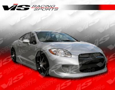 VIS Racing - Mitsubishi Eclipse VIS Racing Ballistix Side Skirts - 06MTECL2DBX-004