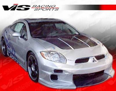 VIS Racing - Mitsubishi Eclipse VIS Racing Demon Side Skirts - 06MTECL2DDEM-004